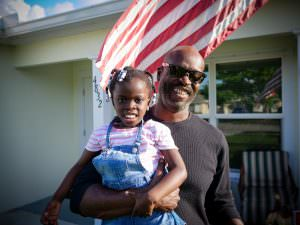 Tony is a veteran who gained access to affordable homeownership through Habitat for Humanity