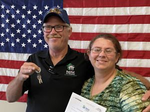 U.S. Veteran and Habitat for Humanity of Lee and Hendry Counties Homeowner, Mark