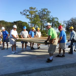 Residents from Bonita Bay and Pelican Landing help Kerlyn and family build their home