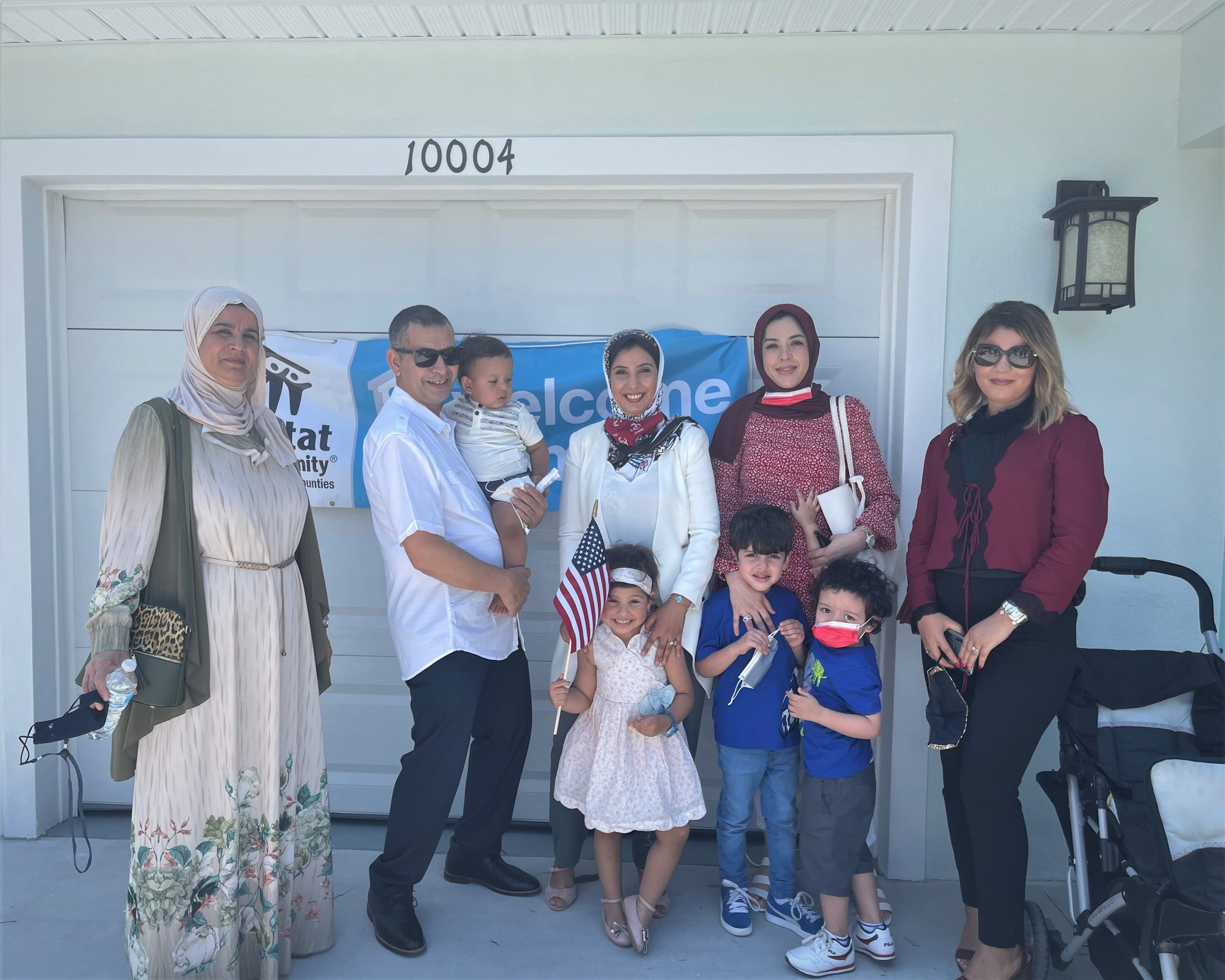 Bekhaled and his family achieve affordable homeownership with support from Habitat and Pelican Landing